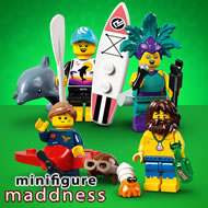 Vos minifigs LEGO moins cher chez Minifigure Maddness !