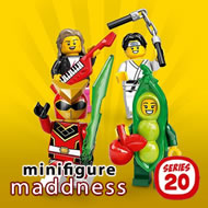 Vos minifigs moins cher chez Minifigure Maddness !