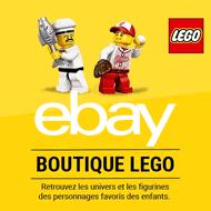 Boutique LEGO chez eBay